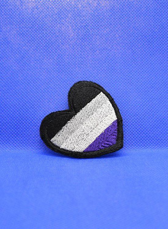 Naszywka asexual flag